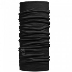 Buff Lightweight Merino Solid Black