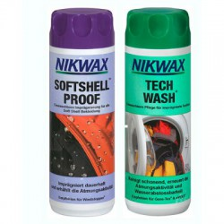 Nikwax Twinpack Softshell-Wash