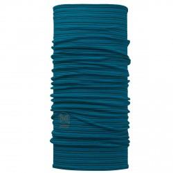 Buff Wool Seaport Blue Stripes