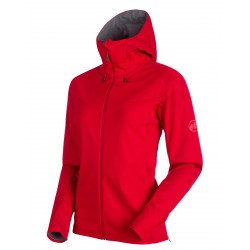 Mammut Ultimate 5 SO Hooded Womens Jacket