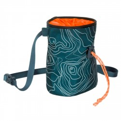 Blue Ice Poff Chalk Bag