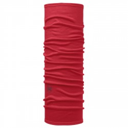 Buff Lightweight Merino solid red scarlet
