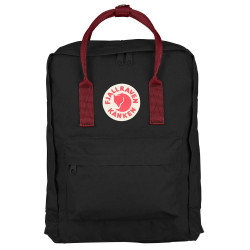 Fjäll Räven Kanken black-ox red