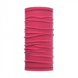 Buff 3-4 Merino wool Buff solid wild pink