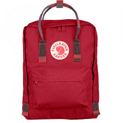 Fjäll Räven Kanken Deep Red Random Blocked