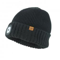 Sealskinz Waterproof Cold Weather LED Roll Cuff Beanie Hat