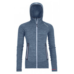 Ortovox 2020 Merino Fleece Light Melange Hoody Women
