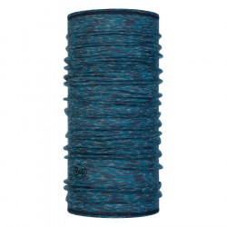 Buff Lightweight Merino Lake Blue Multi Stripes