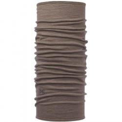 Buff Lightweight Merino Solid Walnut