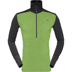 Norrona Wool zip neck