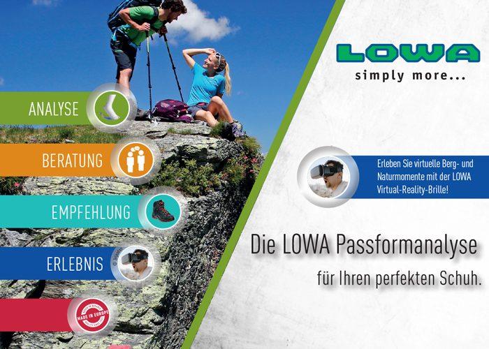 LOWA Passformtag am 8.5. 2019
