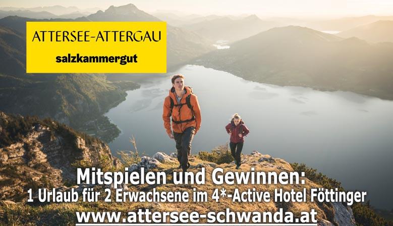 Jetzt mitmachen und einen Urlaub am Attersee zu gewinnen!