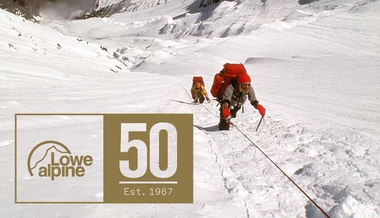 50 Jahre Lowe Alpine